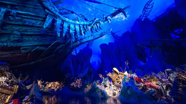 Pirates Of The Caribbean Attractions Shanghai Disney