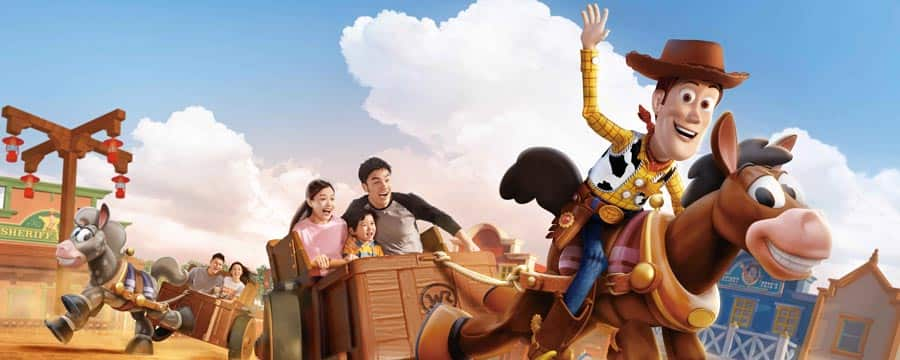 Disney Pixar Toy Story Land Shanghai Disney Resort